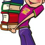 Los libros, material escolar