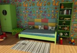 Habitaciones de los niños reformada y organizada